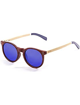 Ocean Sunglasses Ski Gafas de Sol Polarized Lizard Wood (52 mm) Marrón
