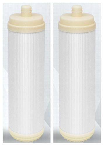 ATXLYT Ultrafiltration Membran (Plug-In), 25,4 cm, Hohlfaser, Trockenmembran mit hohem Durchfluss, 2 Stück -