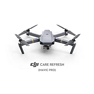 DJI Mavic Pro - Care Refresh Warranty (Valid for 12 Months), Offers Two Replacement Units Within A Year, Water Damage Coverage, Rapid Support, Drone Warranty, Mavic Pro Accessories