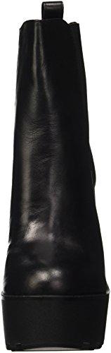 Windsor smith Grunt, Chaussures de Gymnastique Femme Noir (Black Leather)