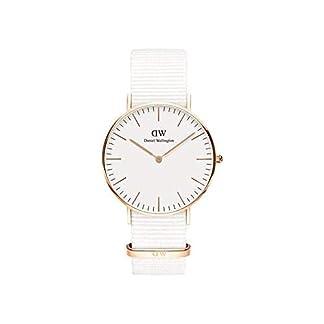 Daniel Wellington Classic Dover – Reloj para Mujer (Correa de Nailon)