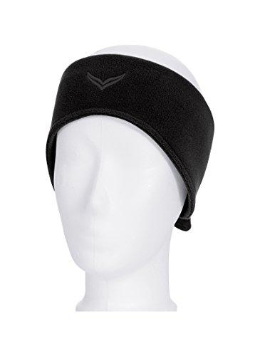 Trigema Stirnband Jungen Fleece (schwarz 008), One Size (Herstellergröße: 3)