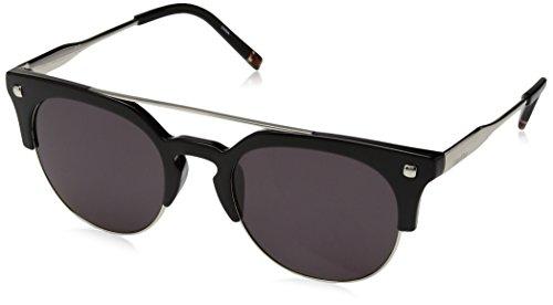 Calvin Klein Unisex-Erwachsene CK3199S-001-52 Sonnenbrille, Shiny Black, 52