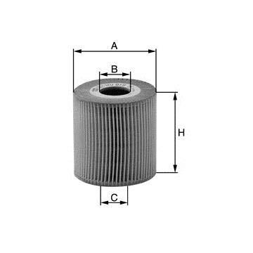 Filtro olio evotop sostituzione MANN 65002871