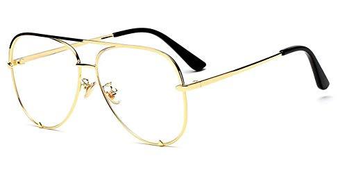 MoHHoM Sonnenbrille Mini Schwarz Sonnenbrille Marke Frauen Mode Spiegel Rosa Brille Aviators Stil Nach Mädchen Sonnenbrille Uv400 Farbverlauf Gold Frame Löschen