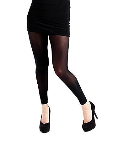 Legging noir grande taille 50 deniers (Taille