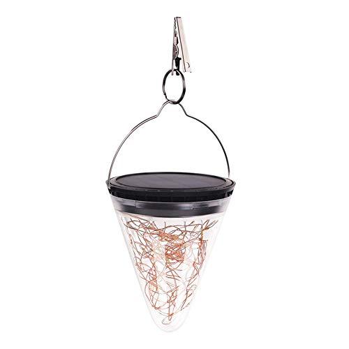 winnerruby 2ST Weihnachten Solar Light Garten Hanging Tree Dekoration-Lampe