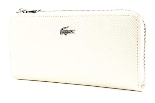 Lacoste Daily Classic Slim Zip Wallet Marshmallow