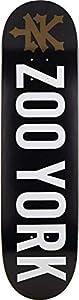 """ZooYork Logo Skateboard Deck (8.1"""" - Black)"""