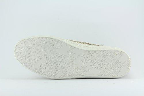 Jimmybar - Sneaker Orlando Ckj Jacquard/Grosgrain, Uomo Khaki