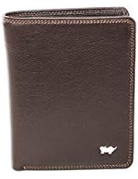 Braun Büffel Golf Hochformatbörse mit Reißverschlussfach