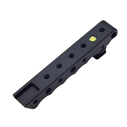 de Disparo En Frío/Caliente, Para Cámara Dslr de Tiro Bajo Para Für Canon Eos, Aleación de aluminio (Negro) (BK) ()