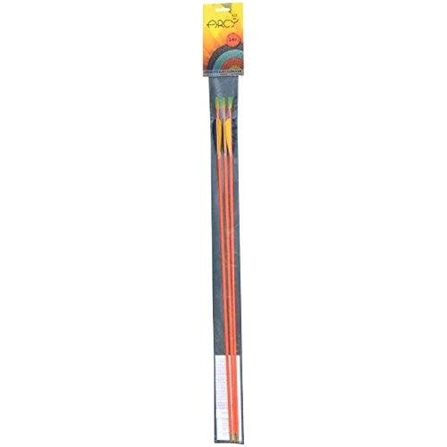Black Flash Archery 90710 - Arcy Fiberglaspfeil Hurrican, Outdoor und Sport, 3er-Set Black Flash Archery
