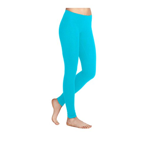 Missloved Plain Stretchy Viscose Lycra Leggings Sizes UK 8-26 * 30 Colours *