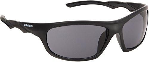 Cressi oahu occhiali sportivi da sole per adulto, grigio