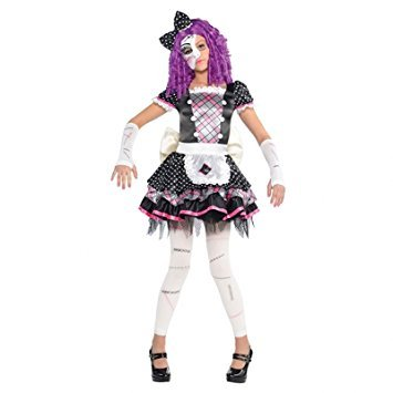 nderkostüm (Scary Doll Halloween Fancy Dress)