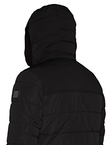 TOM TAILOR Herren Jacke Padded Jacket Schwarz (Black 2999)