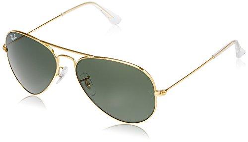 Ray-Ban Aviator Sunglasses (Gold) (RB3025|001555)