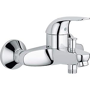 Grifo monomando para baño o ducha – Euro – Pared – Cromado – 23366000