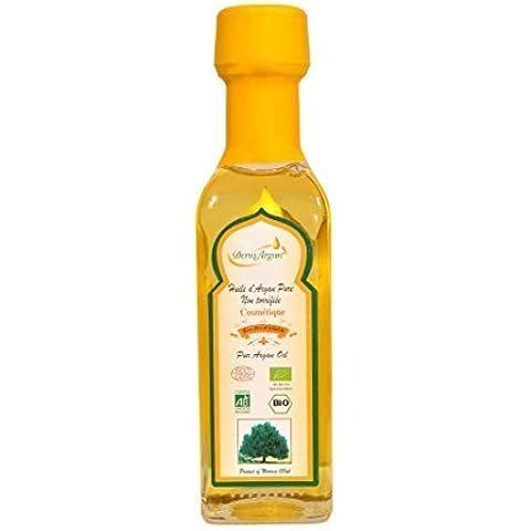 Puro aceite de Argán y Bio - Suero El Cabello, Cuerpo y rico en vitamina E Face Hidratante y reparadora 100% orgánico certificado por ECOCERT,