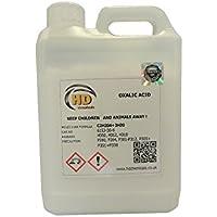 Ácido oxálico puro al 99,5%, limpiador y eliminador de óxido para cubiertas