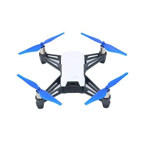 prevently Creative Bright Color Quick Release/Lock Props Propellers CCW Cw Blades for DJI Tello Mini Drone, 4 Pieces