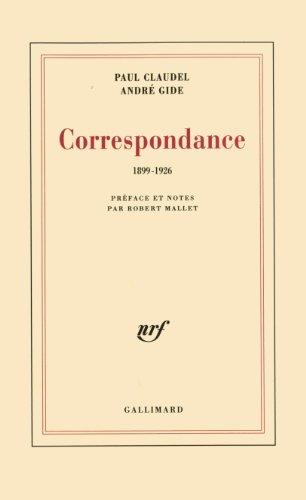 Correspondance 1899-1926 par Paul Claudel