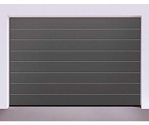 Hörmann - Sektionaltor - Garagentor - RenoMatic light - Anthrazit RAL 7016 Woodgrain - inkl. ProMatic Antrieb - Maße: 3000 x 2250 mm