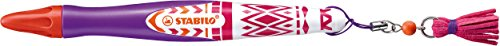 Fineliner mit gefederter Spitze - STABILO s'move Festival Spirit in lila/pink/orange
