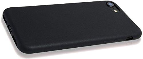 iPhone 6 Hülle Case | Schwarz matt | Bekannte Movoja® Passform | Schutzhülle Matt verschiedene Farben iPhone6 Cover Apple - Movoja® iPhone 6 matt Schwarz Schwarz