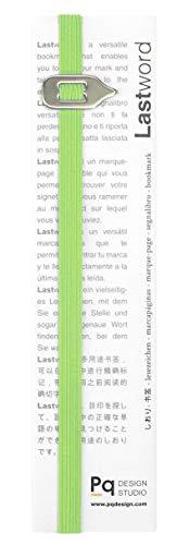 Lastword segnalibro particolare - segnalibro elastico adatto a tutti i libri, books office- segnalibro per uomo donna e bambino ottimo come regalo - Non perdere il segno - Made in Italy (Verde)