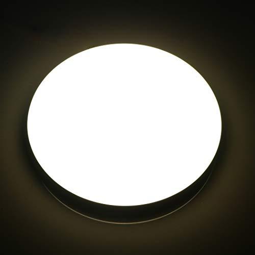 Lamker 18W LED Deckenleuchte Runde Modern Deckenlampe Neutralweiß 4000K IP44 Wasserfest 1550LM Deckenleuchten für Schlafzimmer Badezimmer Flur Wohnzimmer Küche Korridor