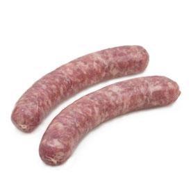Carré de bœuf - Charcuterie - Saucisse - Saucisse nature - 2 x 125g - Livraison en colis réfrigéré 48h