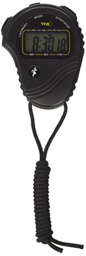 TFA Stoppuhr - Cronómetro, color negro