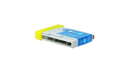 Compatible pour Brother DCP-153 C Cartouche d'encre cyan - LC-970C - Inhalt: 12 ml