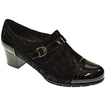 Zapato Tacon - Mujer - Negro - pitillos - 5271