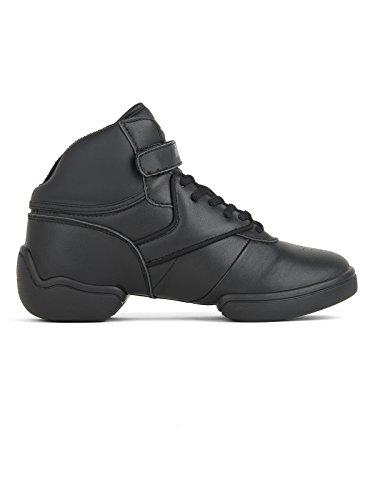 RUMPF Sport Sneaker Classic I Dance Tanz knöchelhoch geteilte Sohle schwarz 38