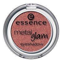 Essence metal Glam eyeshadow, Ombre à paupières avec texture métallique pour un effet intense brillant de couleur n°03 Frosted apple, 2.7 g, 0.09 oz.