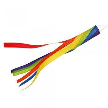Windsack - 100 Spiral - UV-beständig und wetterfest - Ø11cm, Länge: 100cm - inkl. Kugellagerwirbelclip (Spiral)