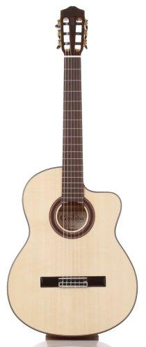 Cordoba GK-Studio - Guitarra electroacústica, madera de abeto, color marrón