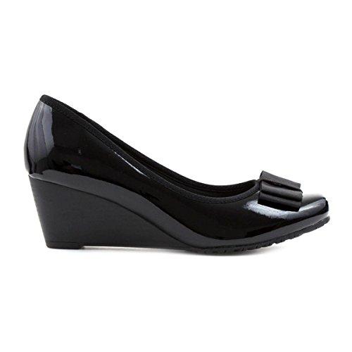 Comfort Plus , Mary Janes pour femme Noir
