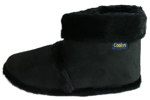 Coolers Chaussons montants en fourrure homme Pointures 41 à 47