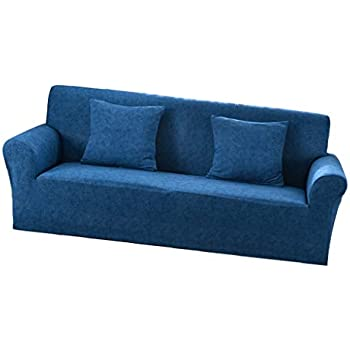 Elastische Stretch Sofabezüge Sofahusse Couch Sofa Husse für 2er-//3er