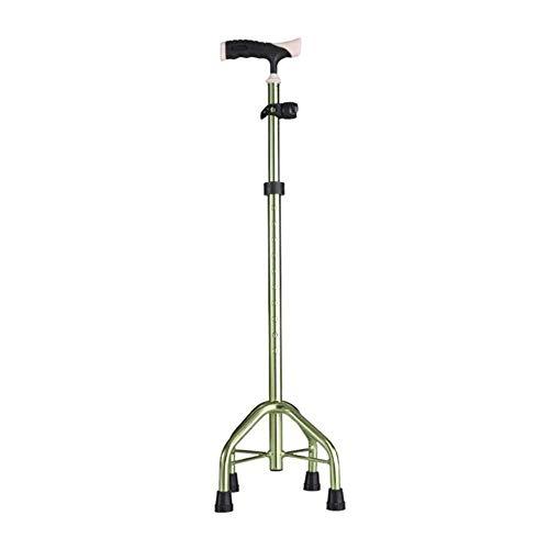 Praktikabilität Leichtes, rutschfestes Rohr aus Aluminiumlegierung mit Schwamm und ergonomischem Griff. 10 höhenverstellbare Stufen, geeignet for ältere Männer und Frauen mit Zuckerrohr gute Qualität -