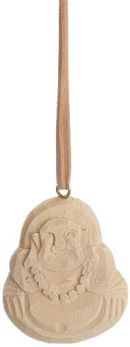 Preisvergleich Produktbild Cartrend 3409400 Holz-Lufterfrischer Happy Buddha, Vanille