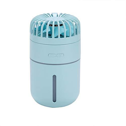 tffl Misting Cooling Handheld, pequeño Ventilador portátil, Mini atomizador, USB Recargable, Material...