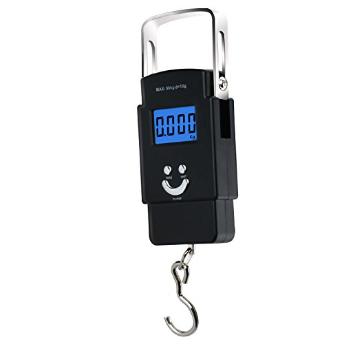 Function Summary  This electronic portable scale is ideal for travelling, shopping, fishing, and home using. It is convenient to carry and has precise weighing. Additional features include: auto-zero, auto-off,unit conversion, back light and tape fun...