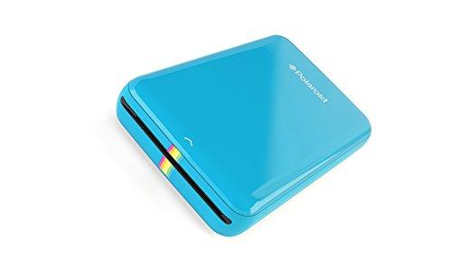 Polaroid Zip Handydrucker mit Zink Zero tintenfreier Drucktechnologie Blau
