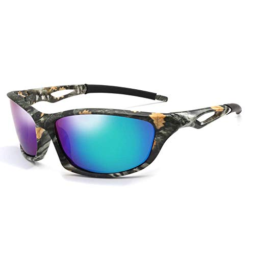 BAIF Sonnenbrille Polarisierte Sonnenbrille Männer Camo Square Driving Sonnenbrille Nachtsichtbrille Für Männer Gafas Uv400 Eyewear