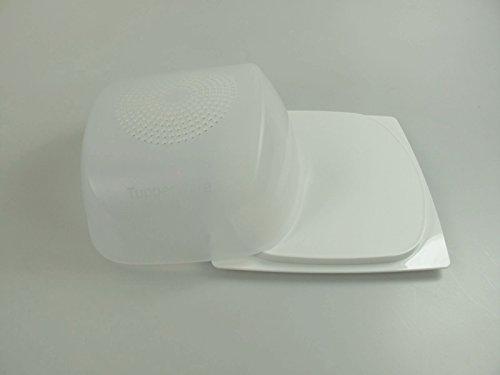 Prodotto originale Tupperware.Formaggera piccola, A205.Colore: trasparente e bianco.La formaggera piccola è perfetta per formaggi di medie e piccole dimensioni.Dimensioni: lunghezza 20,5 x larghezza 20,5 x altezza 9,5 cm.-Il marchio Tupperware è un m...